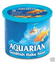 Aquarian 200g Coldwater Fish Flake Aquarium Tank Goldfish